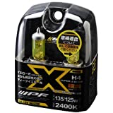 IPF SUPER J BEAM DEEP YELLOW 2400K XY43