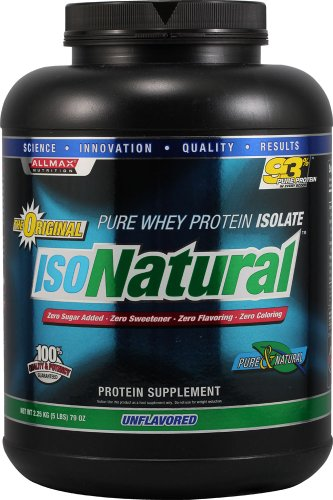 Allmax Nutrition Whey Protein Isolate Unflavored -- 5 Lbs