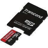 【Amazon.co.jp限定】Transcend microSDXCカード 64GB Class10 UHS-I対応 400× (無期限保証) TS64GUSDU1PE (FFP)