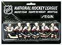 Stiga Calgary Flames Table Rod Hockey Players