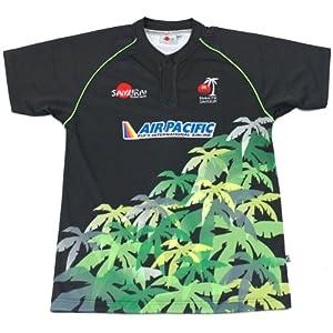 Samurai Men's Replica Fiji Away Rugby - Black/Multi, Small