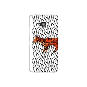The Racoon Grip printed designer hard back mobile phone case cover for Microsoft Lumia 640. (Imprint)