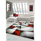 Gris alfombras alfombras y moquetas hogar - Alfombras dormitorio amazon ...