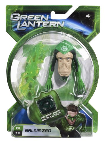 Green Lantern Movie 4 Inch Action Figure GL 16 Galius Zed - 1