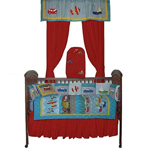 Patch Magic Junior Travel Crib Bedding