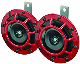 HELLA 003399801 Supertone 12V High Tone/Low Tone Twin Horn Kit with Bracket