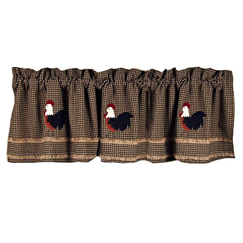 Kitchen Curtains chicken kitchen curtains : Rooster Kitchen Curtains Shop - Everything Log Homes
