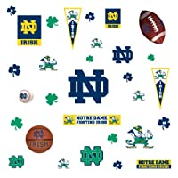RoomMates RMK1065SCS University of Notre Dame Peel & Stick Wall Decals by RoomMates