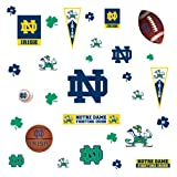 RoomMates RMK1065SCS University of Notre Dame Peel & Stick Wall Decals