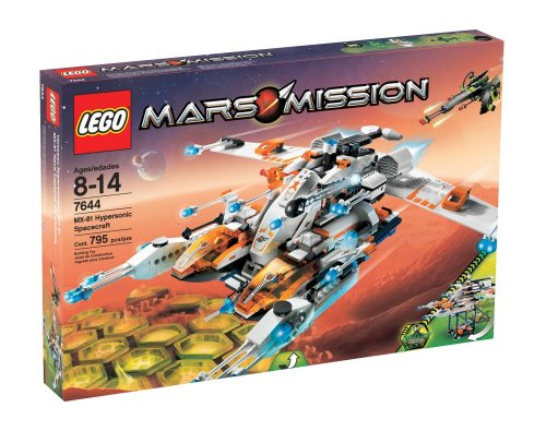 LEGO Mars Mission MX-81 Hypersonic Spacecraft Amazon.com