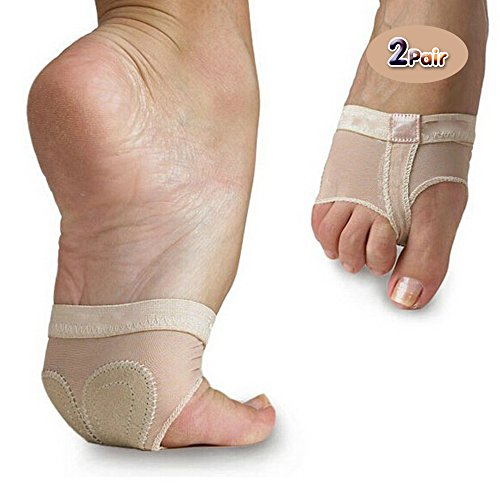 kinashi-2-pair-ballet-dance-thong-metatarsal-pads-ball-of-foot-forefoot-cushions-covers-s