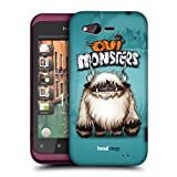 Head Case Blacknose Ovi Monsters Protective Hard Back Case Cover For Htc Rhyme