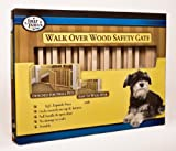 "Walk Over Wooden Gate (30-44"" W, 18"" H)"