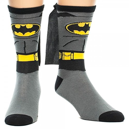 Batman Costume With Cappelloe Crew Calze