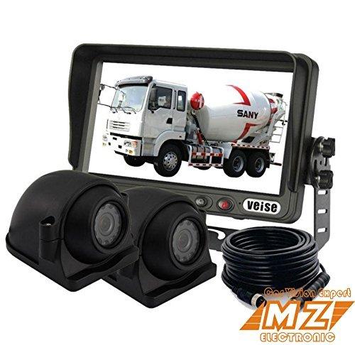 cran-LCD-TFT-178-cm-vue-arrire-arrire-jusquRecul-Arrire-Appareil-photo-Systme-dobservation-Cab-Vido-Systme