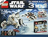 Lego 66366 - Star Wars Superpack 8089 Hoth Wampa Cave and 8083 Rebel Trooper and 7749 Echo Base