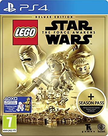 LEGO Star Wars: The Force Awakens Deluxe Steelbook Edition (Exclusive to Amazon.co.uk) (PS4)