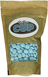 M&M\'s Light Blue Milk Chocolate Candy 1LB Bag