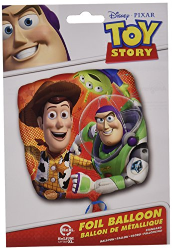 Anagram International HX Toy Story Gang Packaged Party Balloons, Multicolor