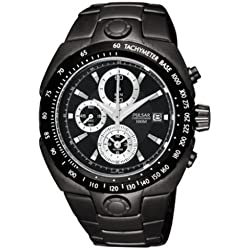 Pulsar PF3807X1 Ion Plated Mens Chronograph Watch
