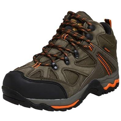 Golden Retriever Men's Waterproof Safety-Toe Casual/Work Hiking Boot,Sage Nubuck,8 M