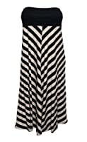 Size Maxi Dress on Amazon Com  Avenue Plus Size Chevron Bandeau Maxi Dress  Clothing