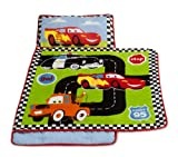 Kids Line Disney Car's Nap Mat, Jr. Junction 21 in X 45 in (53.34 cm X 114.30 cm ) (Discontinued by Manufacturer)