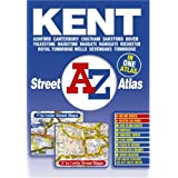Kent Street Atlas (flexibound) (Street Maps & Atlases)by Geographers A-Z Map...