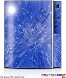Sony PS3 Skin Stardust Blue