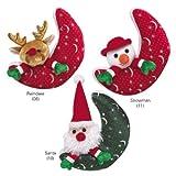 Zanies Night Before Christmas Friend Moon Plush 7″ Toy Style: Santa