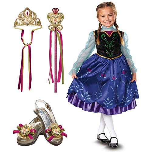Disney Frozen Anna Child Costume Kit Toddler