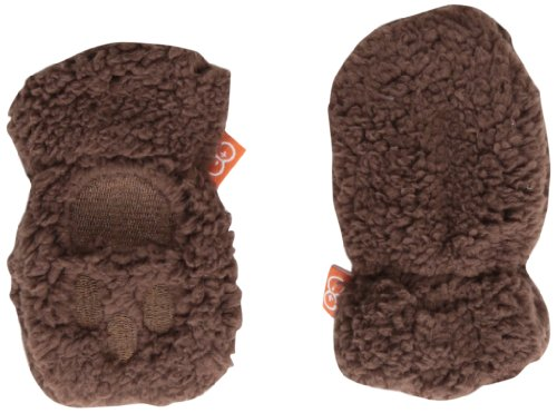 Magnificent Baby Unisex-Baby Infant Smart Mittens, Mocha, 0-6 Months