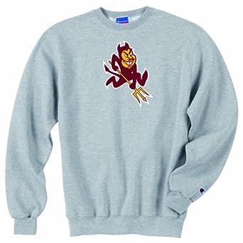 Buy Champion NCAA Unisex Adult Arizona State Sun Devils Powerblend Crew (Grey, XXLarge) by Champion