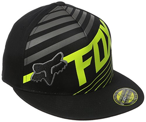 fox-mens-solvent-210-fitted-hat-graphite-small-medium