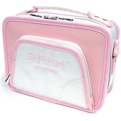 Naki-Nintendo DS Lite G-pak Organizer Coral Pink