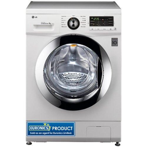LG Electronics Uk Ltd. F1496TDA 1400rpm DD Washing Machine 8kg Load Class A+++ White
