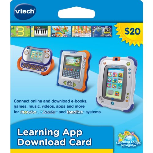 VTech Learning Application Download Card (works with InnoTab, MobiGo, and V.Reader)