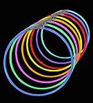 """50 Lumistick 22"""" Glow Stick Glow Neck..."""