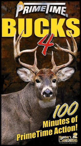 Primetime Bucks (Whitetail Deer Season) [Volume 4] Vhs Video