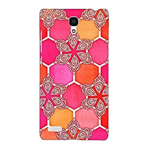 Jugaaduu Hot Winter Pattern Back Cover Case For Redmi Note 4G