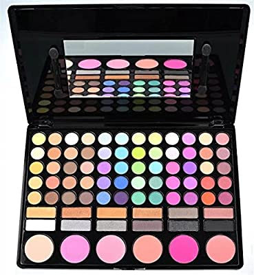 Amazing2015 Professional 78 Color 60 Eyeshadow 12 Shade 6 Blush Blusher Makeup Palette #01