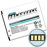 PolarCell Akku für HTC One SV (1950mAh/7,4Wh) BA-S890, BM60100, 35H00202-02M, 35H00202-03M, 35H00201-04M, 35H00201-16
