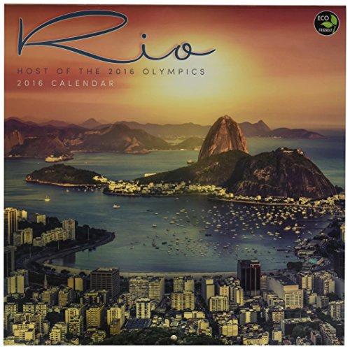 2016 Rio Host Of The 2016 Summer Olympics Wall Calendar