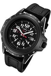 Armourlite ColorBurst Shatterproof Scratch Resistant Glass Green Tritium Watch 10 Year Battery AL210