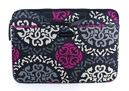Vera Bradley Neoprene Laptop Case Canterberry Magenta front-589894