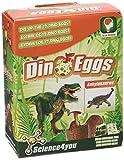 Science4you - Huevo de dinosaurio  Ankylosaurus - juguete científico y educativo