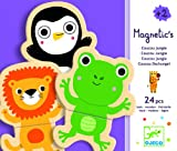 Djeco / Wooden Magnet Play Set, Hello Animals