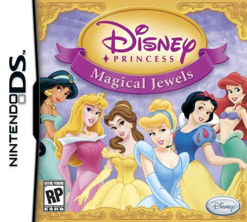 Disney Princess: Magical Jewels - Nintendo Ds front-1020422