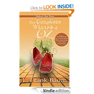 Kindle Book Bargains: The Complete Wizard of Oz Collection (With Active Table of Contents), by L. Frank Baum. Publisher: Bedford Park Books (June 21, 2010)