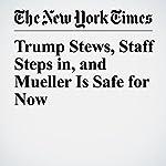 Trump Stews, Staff Steps in, and Mueller Is Safe for Now | Glenn Thrush,Maggie Haberman,Julie Hirschfeld Davis